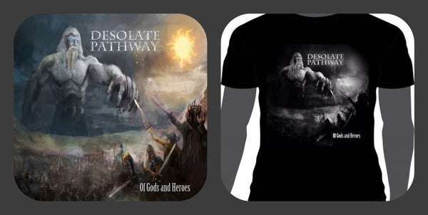 Image of Cd & t-shirt DEAL