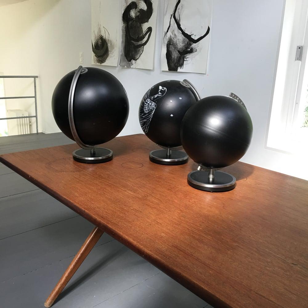 Image of Black Board Globe