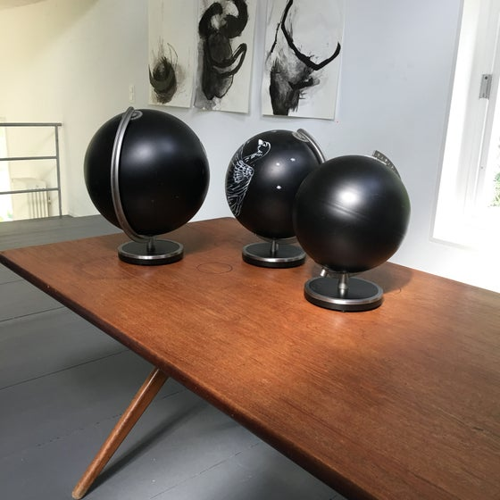 Image of Black Board Globe