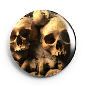 Image of 2.25 inch Paris Catacombs Button/Magnet/Bottle Opener/Compact Mirror