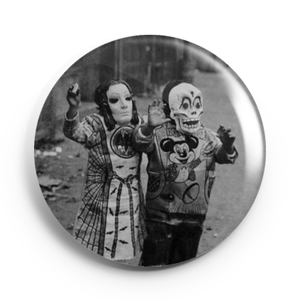Image of 2.25 inch Vintage Halloween Button/Magnet/Bottle Opener/Compact Mirror