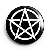 Image of 2.25 inch Pentagram Button/Magnet/Bottle Opener/Compact Mirror