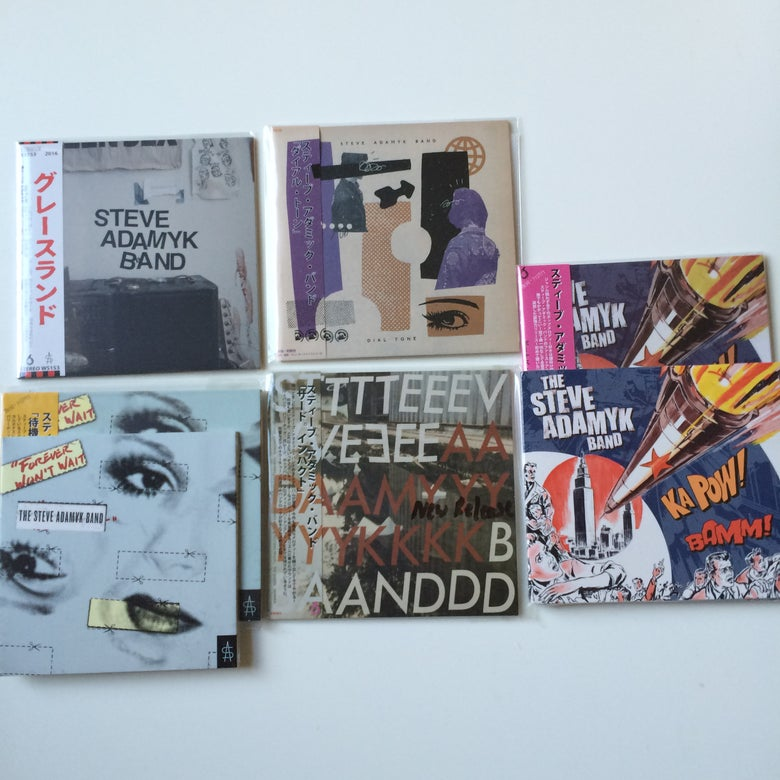 Image of Steve Adamyk Band CD's