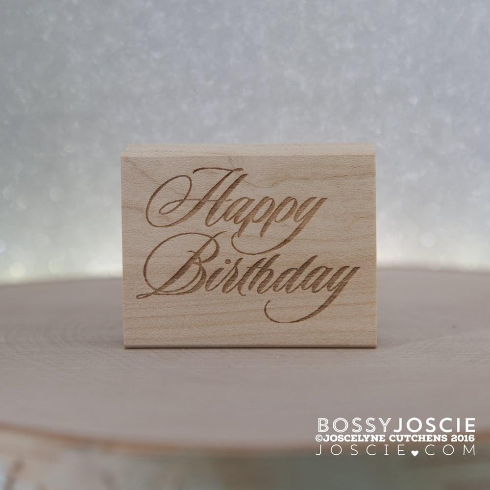 Image of Fancy Happy Birthday
