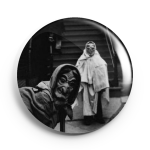 Image of 2.25 inch Vintage Halloween 2 Button/Magnet/Bottle Opener/Compact Mirror