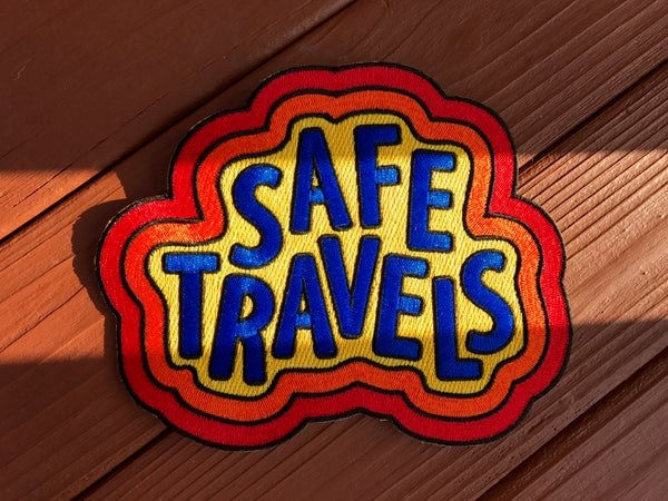 Image of Safe Travels Patch