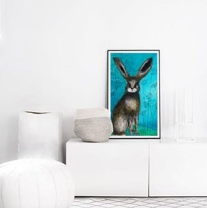 Image of Wild Rabbit PRINT