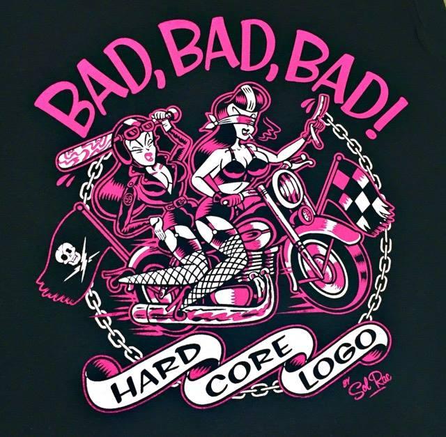 Image of Bad, Bad, Bad ! Ladies T-Shirt
