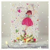 Image of Personalised Christmas Fairy Card