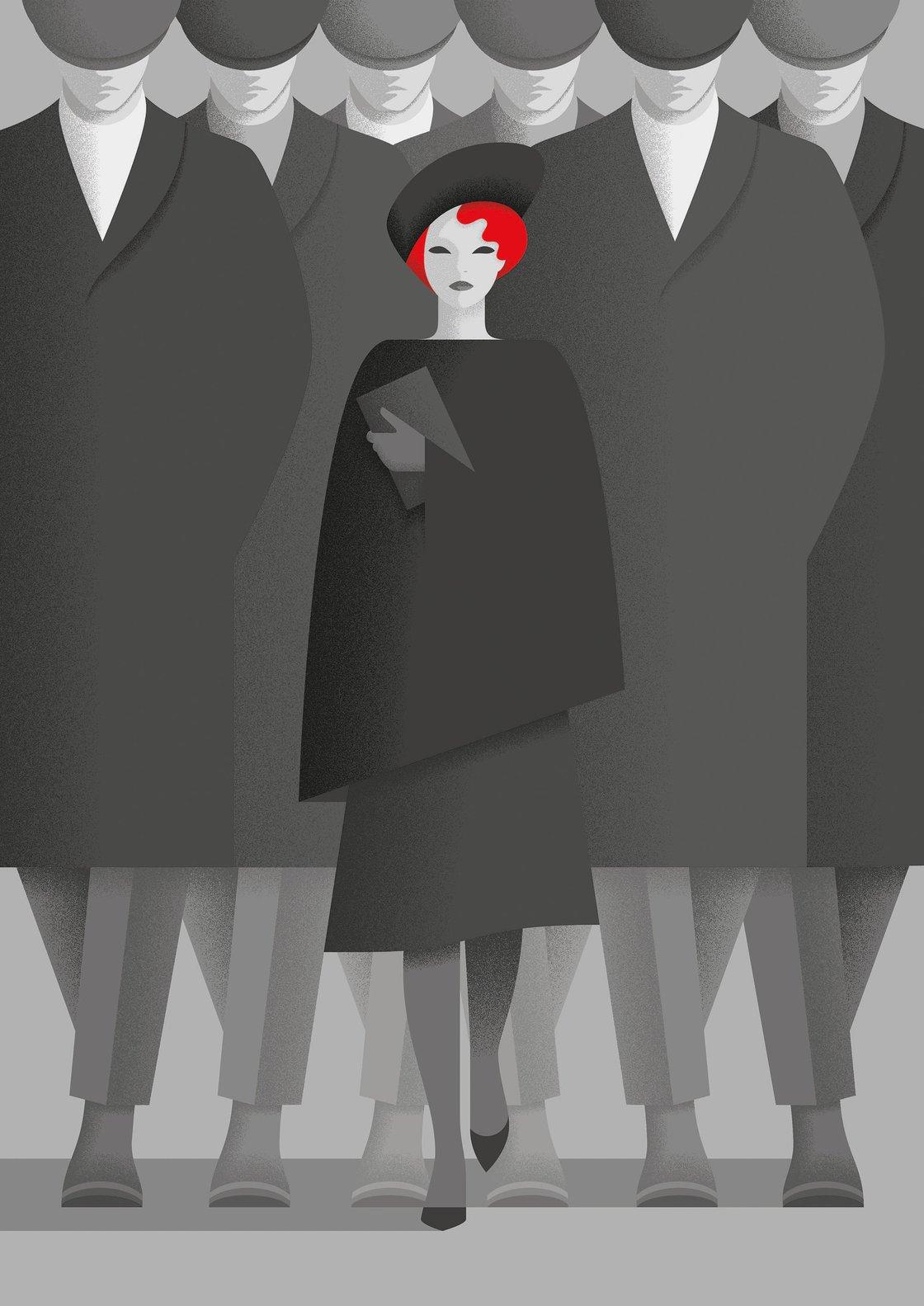 Image of Ellen Wilkinson by Deanna Halsall