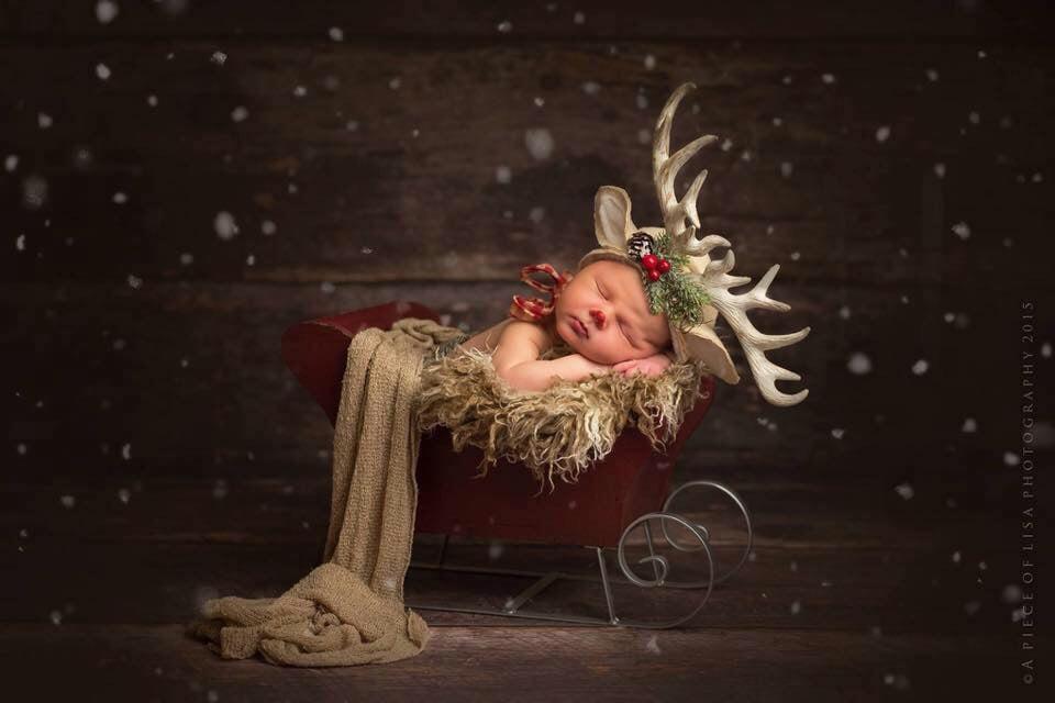Image of Little Rudolph bonnet