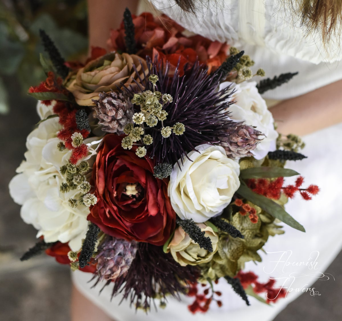 "Image of The ""Crimson"" Bouquet"