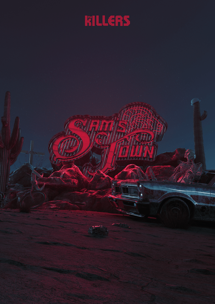 Image of The Killers - SamsTown10