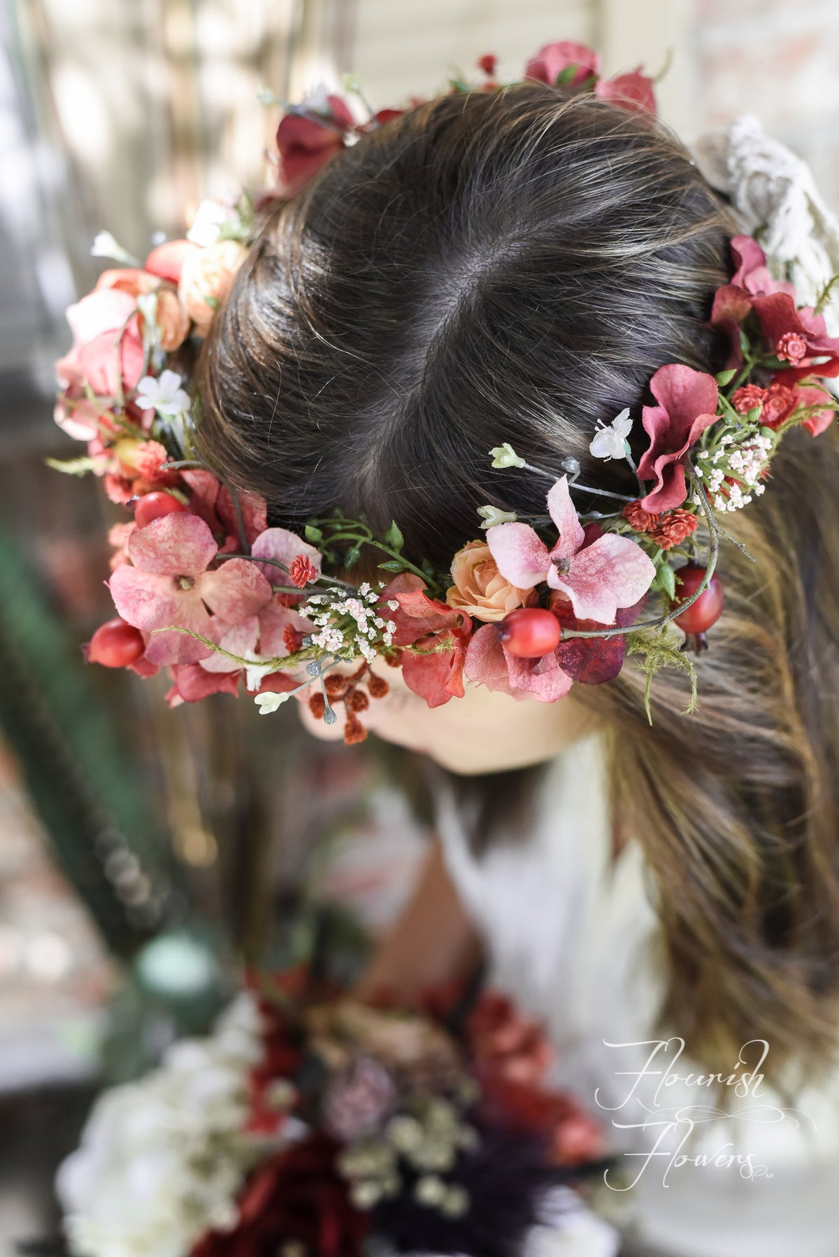 Image of Bridal Floral Crown