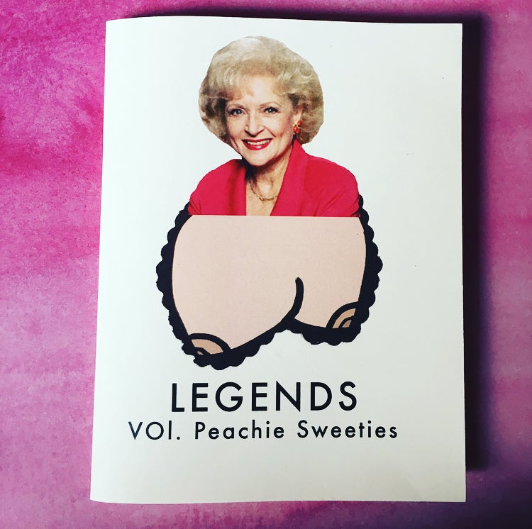 Image of Legends: Vol 1. Peachie Sweeties Zine