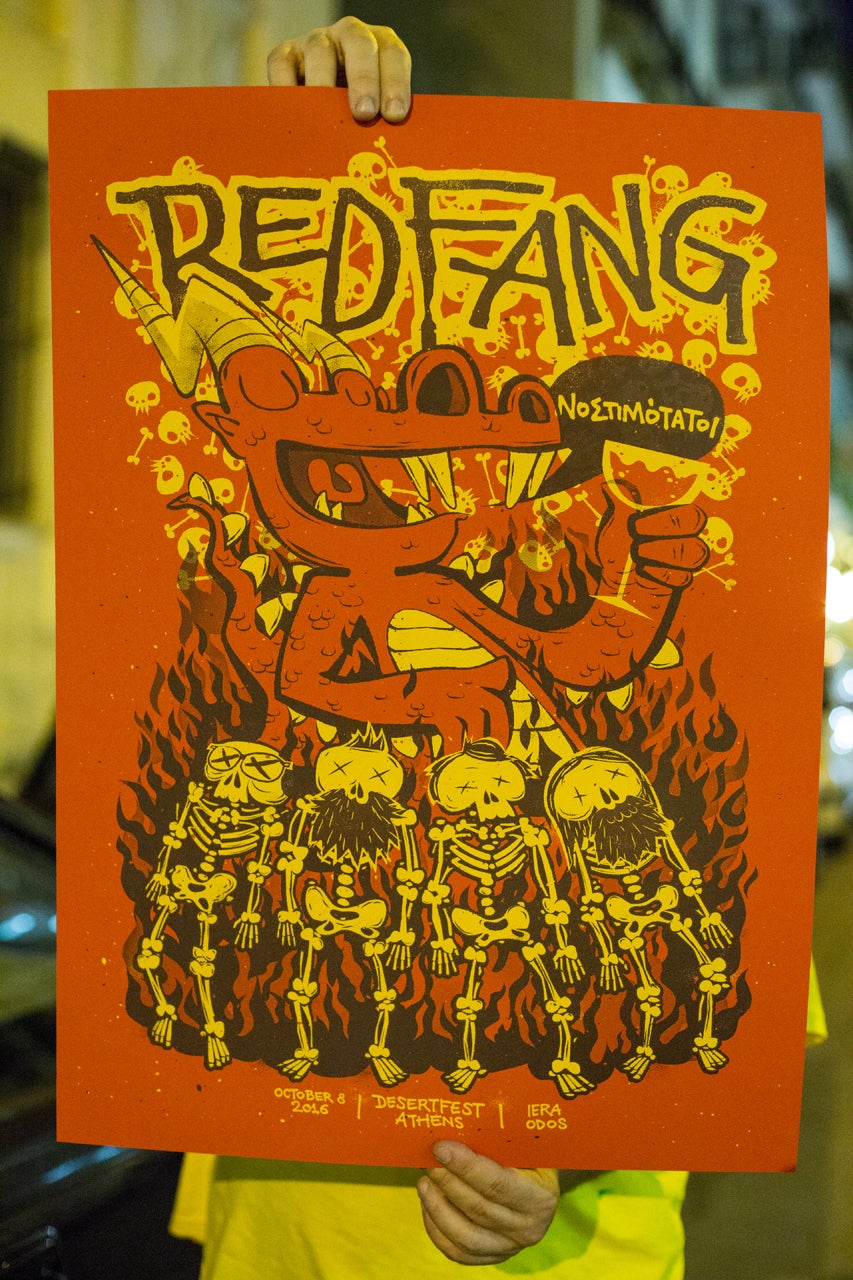 Image of Red Fang - DesertFest Athens 2016