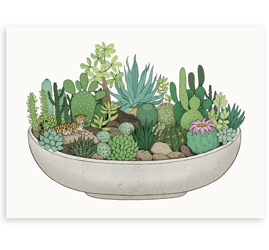 Image of 'Scandi Pot' Limited Edition Art Print
