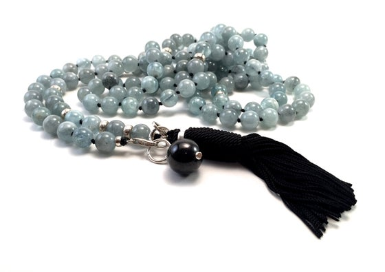 Image of Infinite Journey Aquamarine Mala