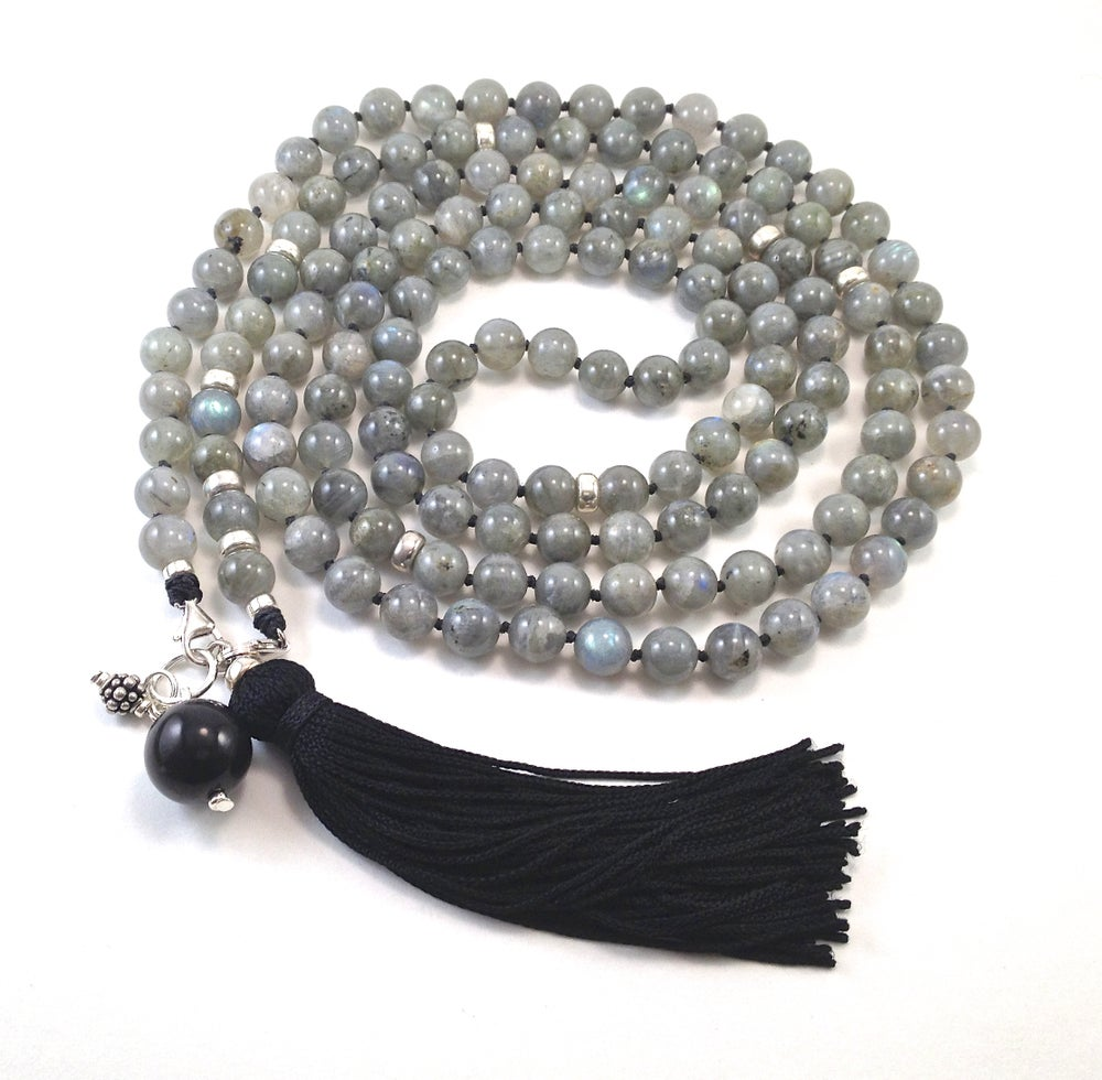 Image of Infinite Journey Labradorite Mala