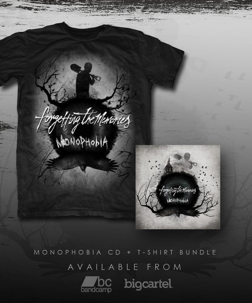 "Image of Monophobia CD + T-Shirt Bundle - ""Monophobia"""