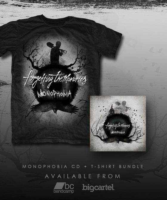 "Image of Monophobia CD + T-Shirt Bundle - ""Monophobia"""