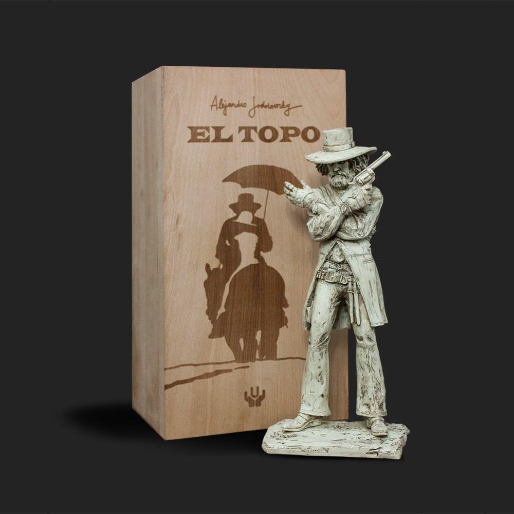 Image of ALEJANDRO JODOROWSKY EL TOPO STATUE