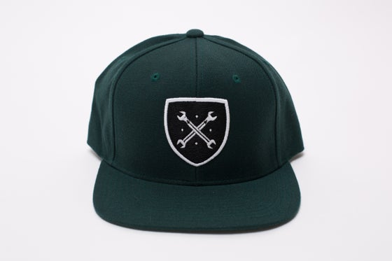 Image of Maniacs Logo Forest Green Snapback