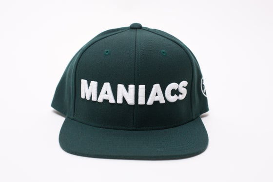 Image of MANIACS Forest Green Snapback