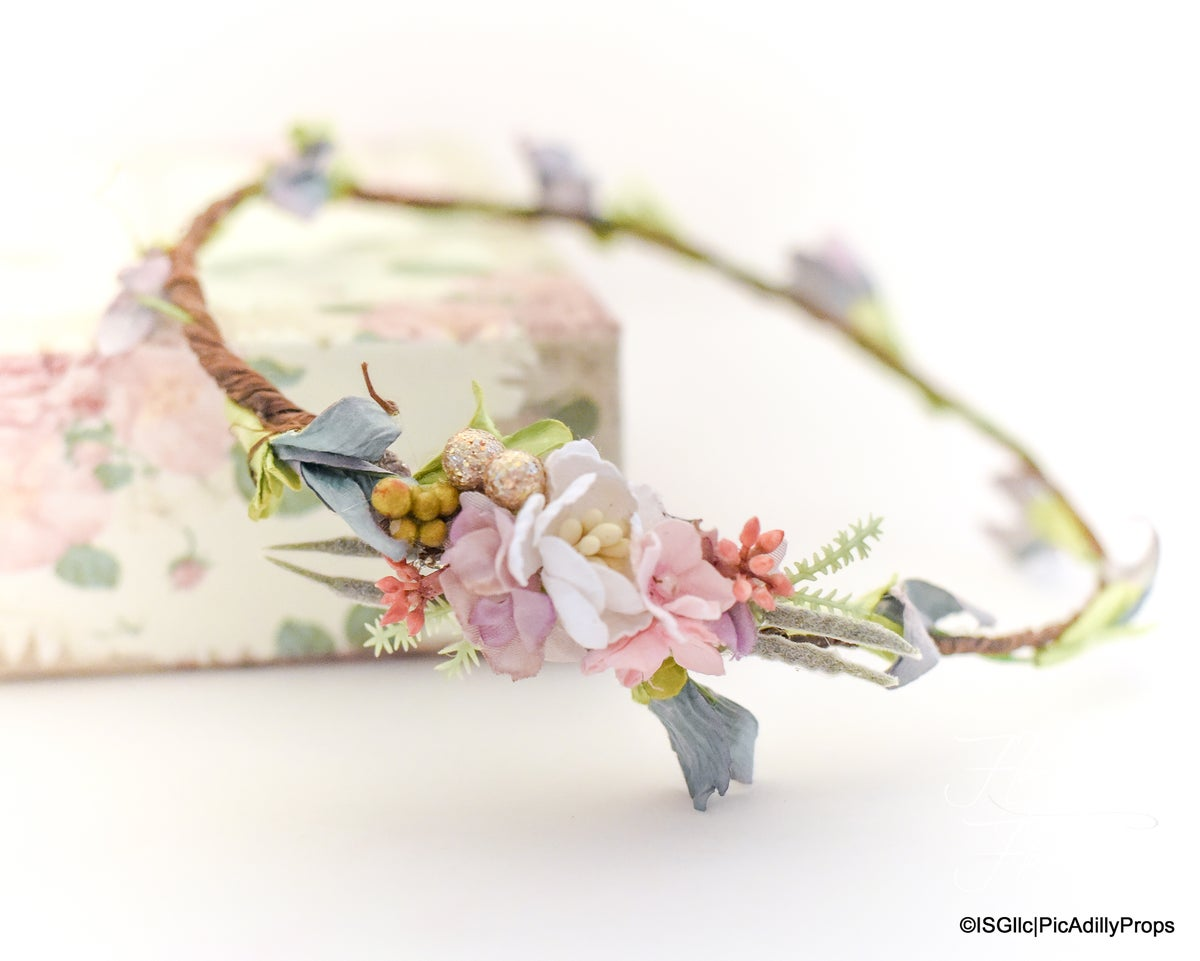 Image of Flower Girl Mini Crown