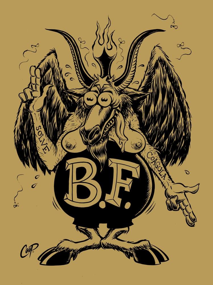 Image of BAPH FINK silkscreen print