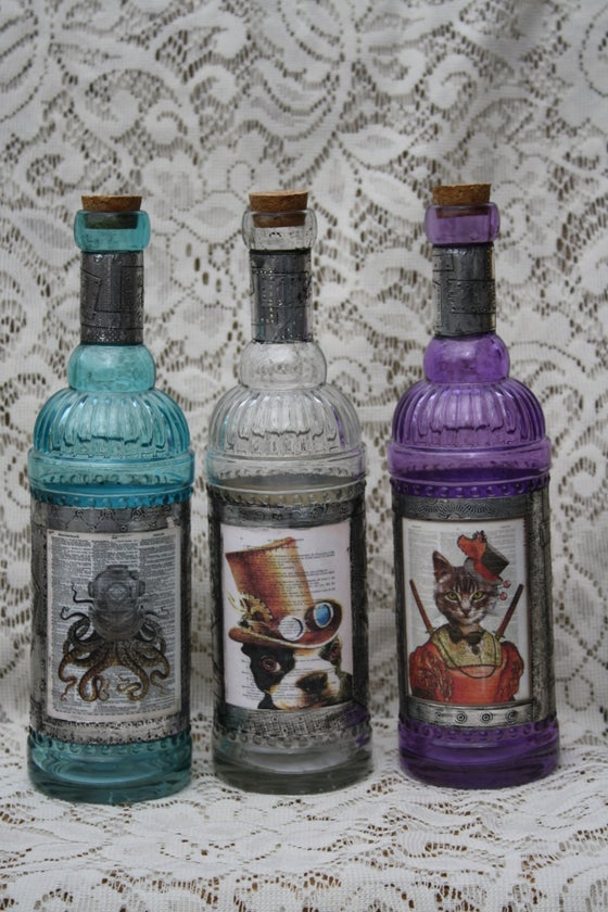 Image of Steampunk Bottles