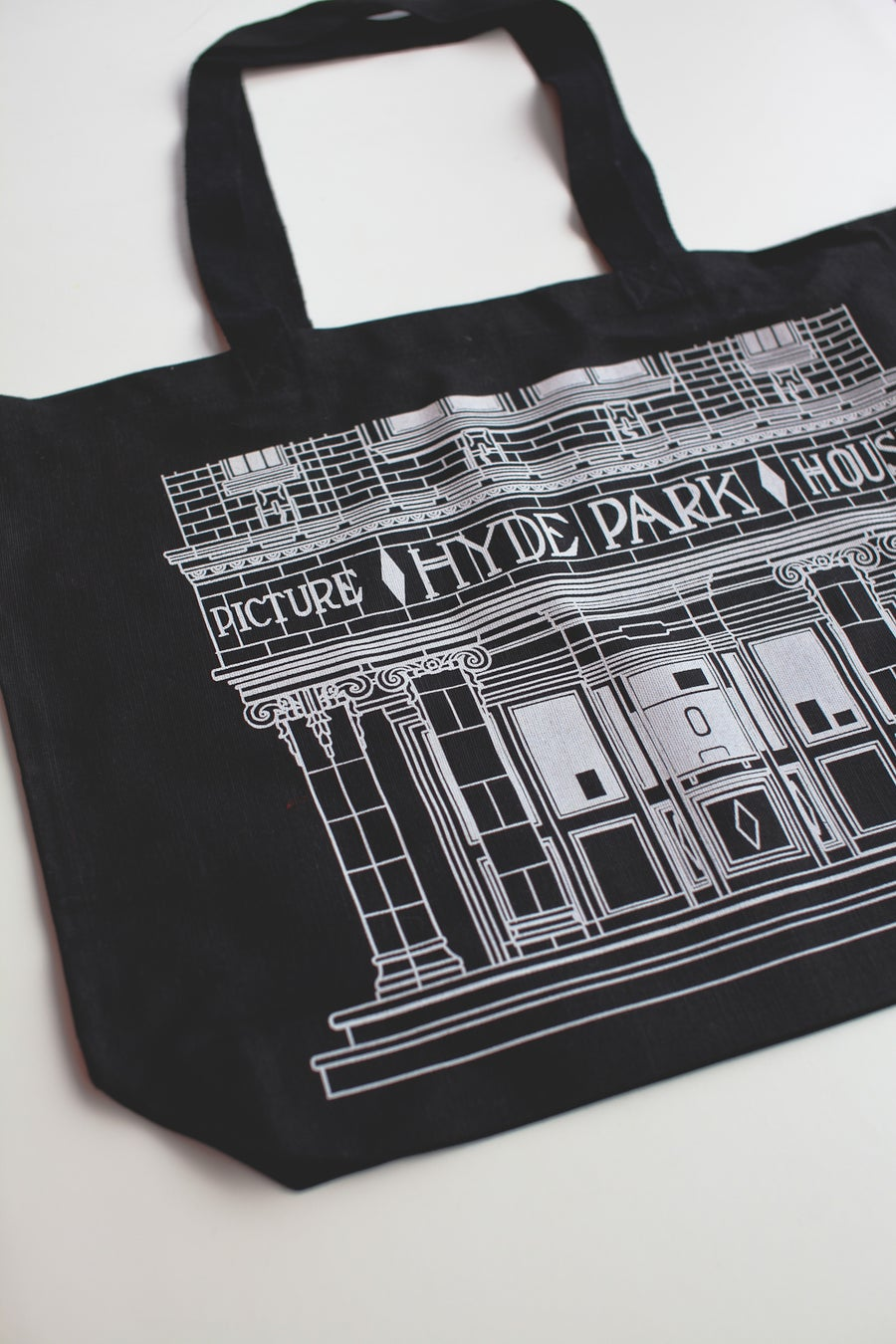 Image of Screen-Printed Tote Bag - Landscape