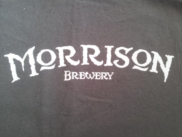 Image of Morrison Brewery Tee size MEDIUM