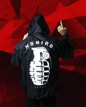 HONIRO - K-WAY BLACK - HONIRO STORE