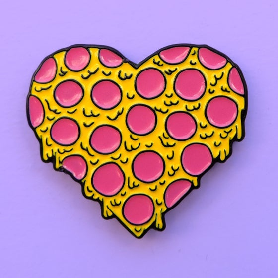 Image of <3 PIZZA PIN