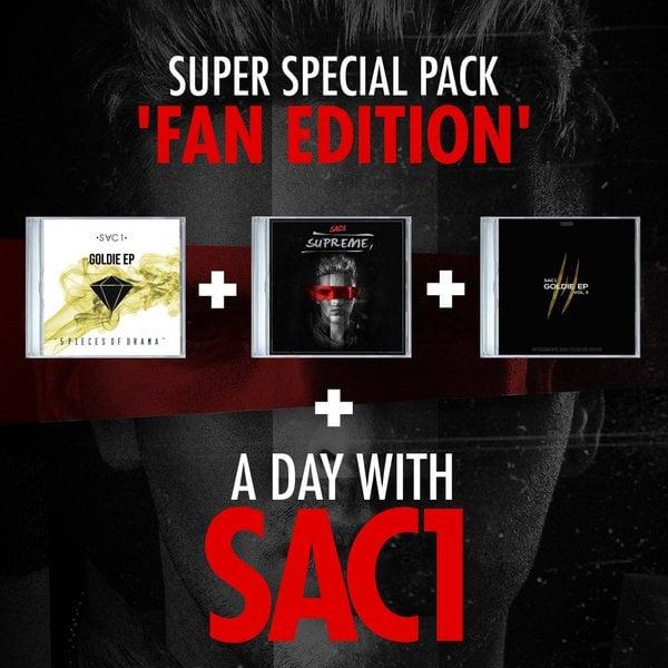 SAC1 - SUPREME SPECIAL PACK FAN EDITION - HONIRO STORE