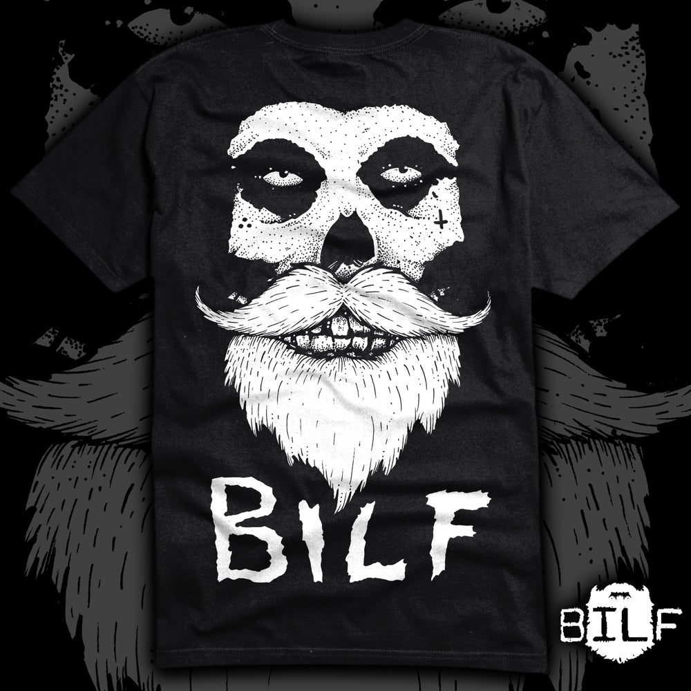 Image of BILFits supersoft T.shirt white print.