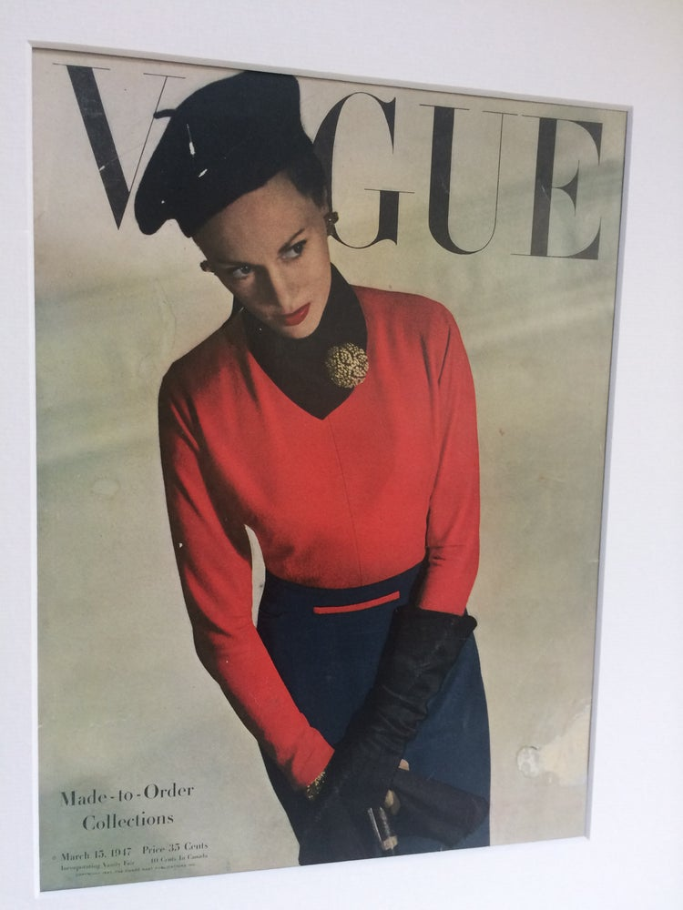 Image of Vogue Cover 15 March 1947 by Horst P. Horst
