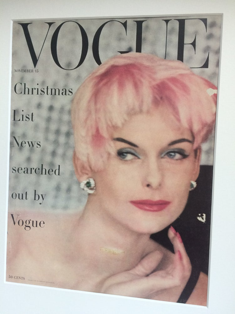 Image of Cartier Vogue Cover 15 November 1955 by Henry Clarke