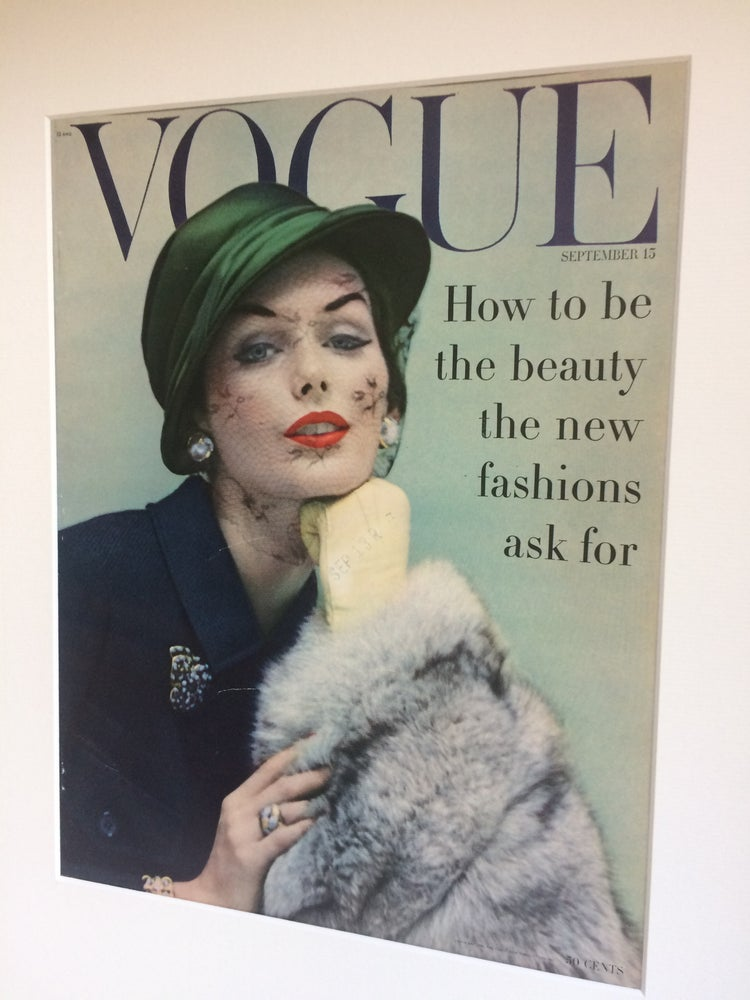 Image of Vogue Cover 15 September 1956 by Karen Radkai