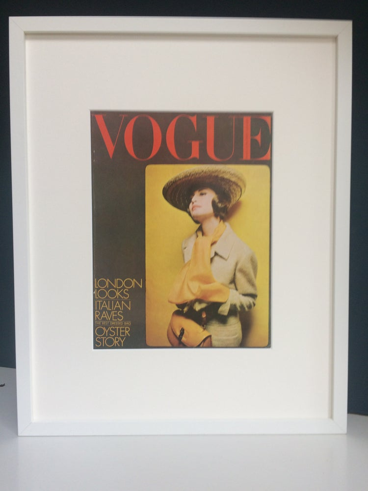 Image of Vogue Cover March 1964 by Donald Silverstein