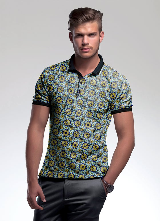 Image of Men's polo shirt cotton - Fasyufasa