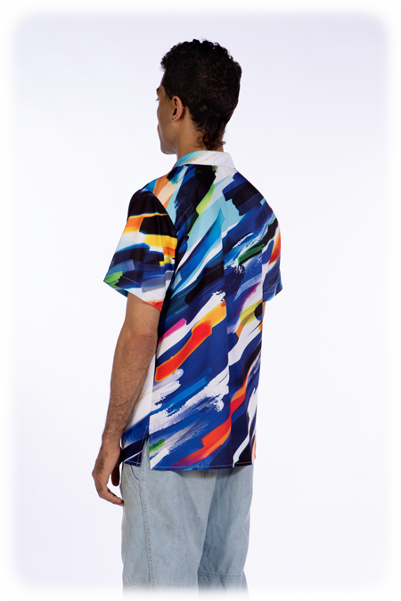 Image of 50% OFF - Short Sleeve Shirt - Mixed Media