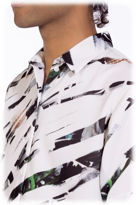 Image of 50% OFF - Short Sleeve Shirt - Painted Rocks