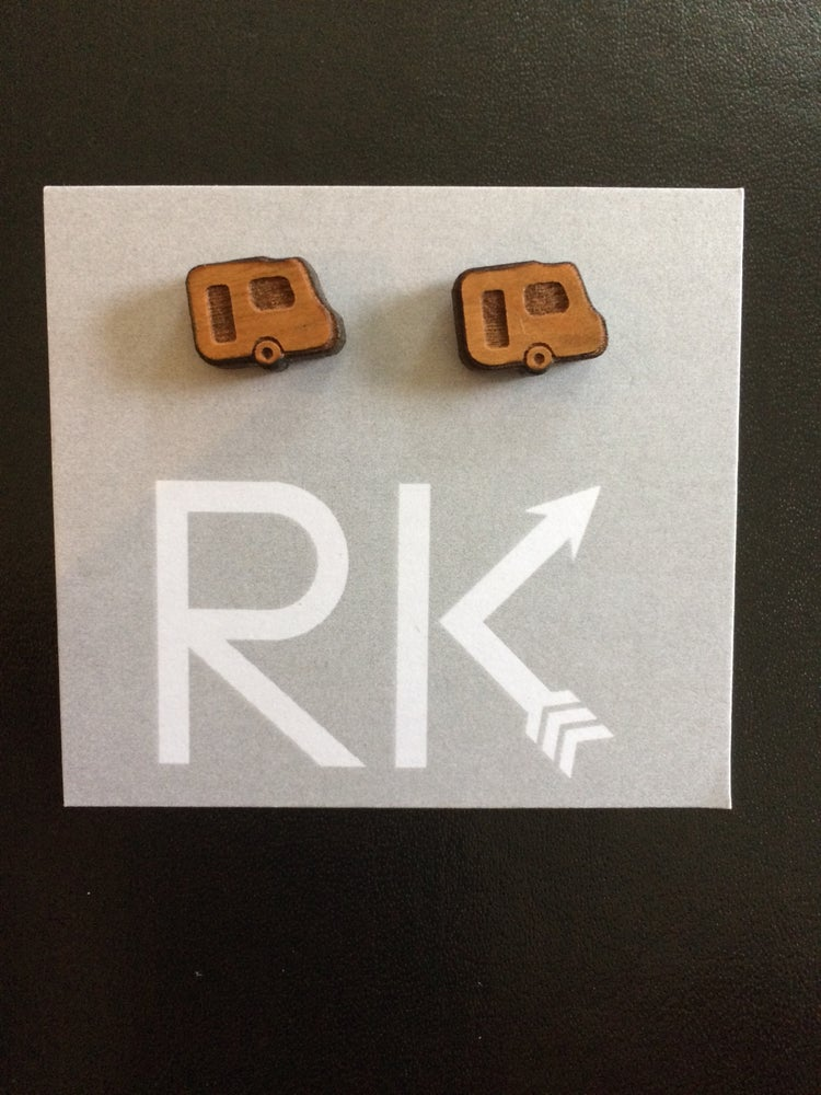 Image of RK Designs ~ Laser etched studs