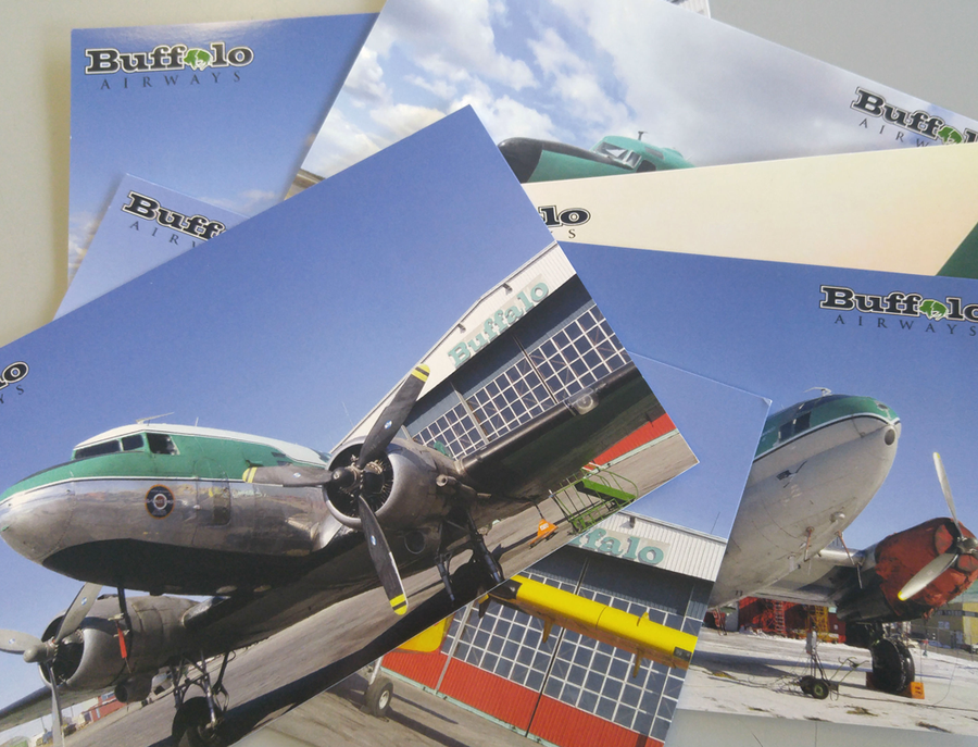 Image of Buffalo Airways Postcard Set
