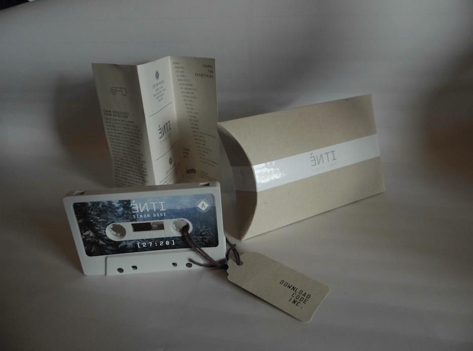 Image of Simon Gore ÉN TI Cassette Release