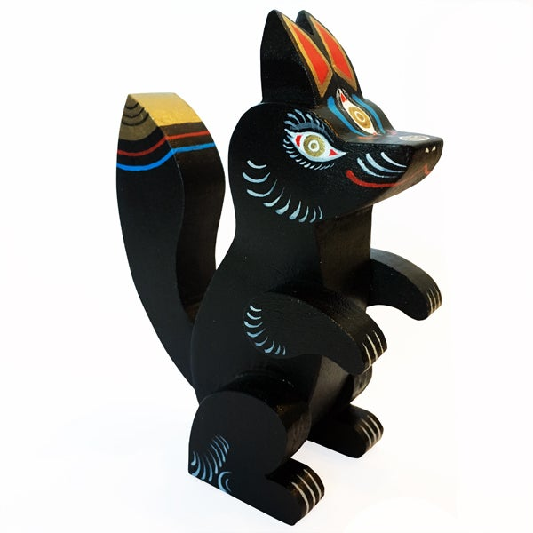 Image of Wood Kitsune