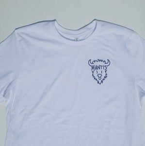 Image of Mantis Bison Shirt White