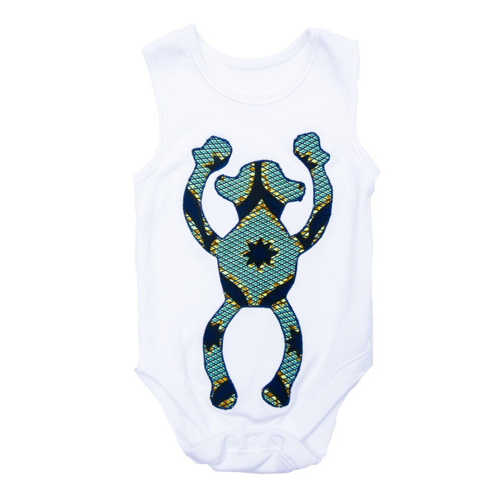 Image of Musa Onesie - Light Blue